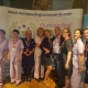This image shows care staff at an awards event.